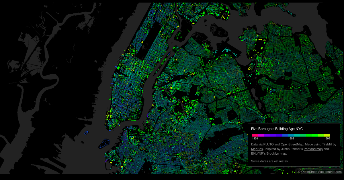 null Digital Map Nyc on